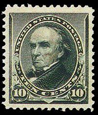 10¢ Webster - green