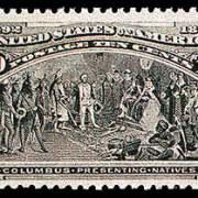 10¢ Presenting Natives - black brown