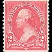 2¢ Washington Type I - pink