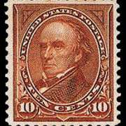 10¢ Webster Type I - brown