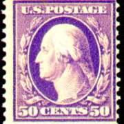 50¢ Washington - violet