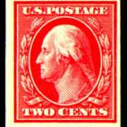 2¢ Washington -carmine