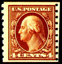 4¢ Washington - brown