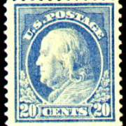 20¢ Franklin - ultramarine
