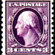 3¢ Washington - deep violet