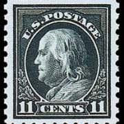 11¢ Franklin - dark green