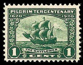 1¢ The Mayflower