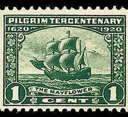 1¢ The Mayflower