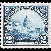 $2 U.S. Capitol (1923) - deep blue