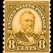 8¢ Grant (1926) - olive green