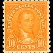 10¢ Monroe (1925) - orange