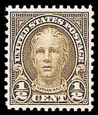 ½ ¢ Nathan Hale - olive brown