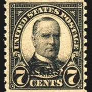 7¢ McKinley - black