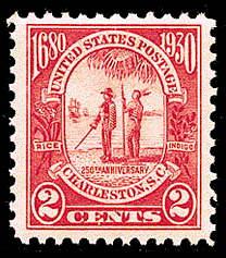 2¢ Carolina Charleston