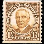 1½ ¢ Harding