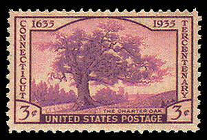 3¢ Connecticut