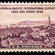 3¢ San Diego
