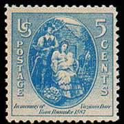 5¢ Virginia Dare
