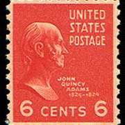 6¢ J. Q. Adams