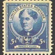 5¢ Frances F. Willard