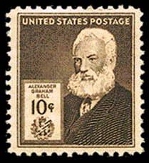 10¢ Alexander G. Bell
