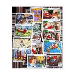 Disney Topical Postage Stamp Collection 25 pc
