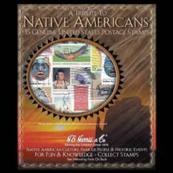 Native Americans U.S. Starter Stamp Collection