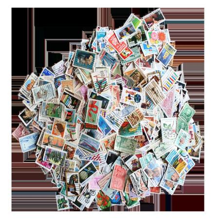 Packet of 1000 US Commemorative Postage Stamps