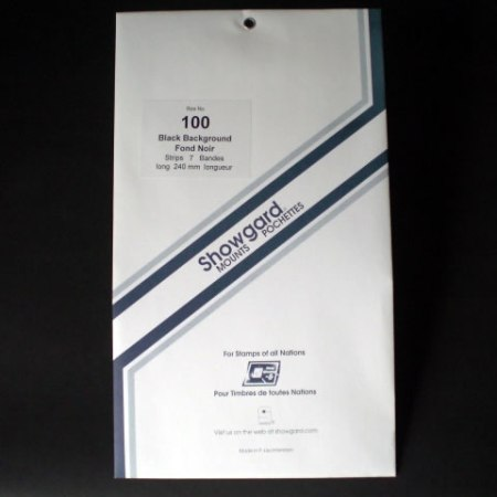Showgard Stamp Mount Strips 100x240