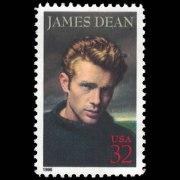 1996 U.S. Stamp #3082 - 32 cent James Dean