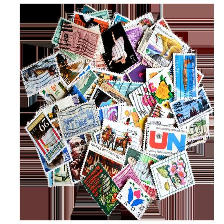 Packet of 100 US Commemorative Stamps