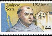 United States Airmail Stamps - 1983 - 1989 - 44¢ Juniper Serra (1985)