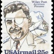 United States Airmail Stamps - 1979 - 25¢ Post & Plane