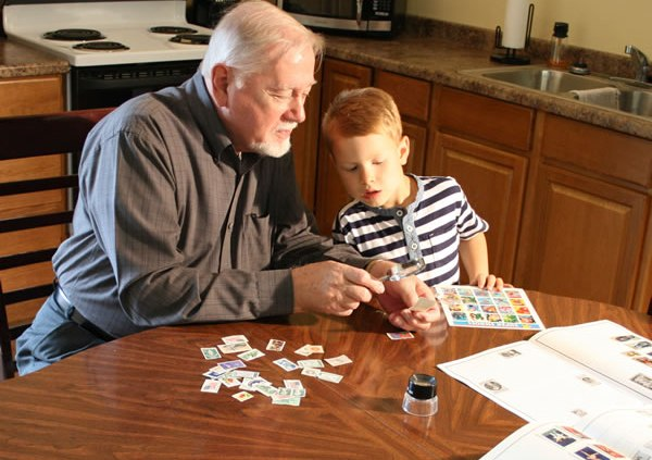 Collecting Stamps and Memories for the Holidays