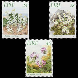 1988 Ireland Endangered Flora Stamp Set