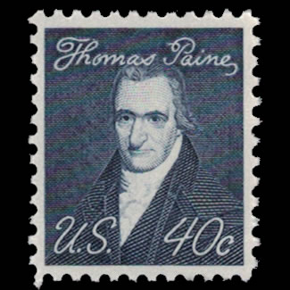 US Stamp #1292 - 40 Cent Thomas Paine Issue