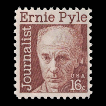 US Stamp #1398 - 16 Cent Ernie Pyle Issue