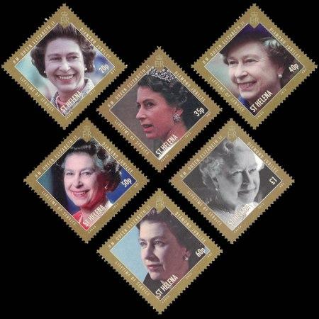 Queen Elizabeth II Diamond Jubilee Stamp Set