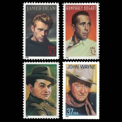 U.S. Legendary Actors Stamp Set