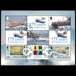 1999 Isle of Man 822a Stamp Booklet Pane