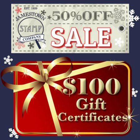 Half Off Gift Certificate Sale
