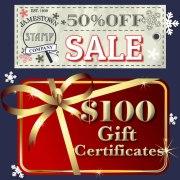 Half Off Gift Certificate Sale