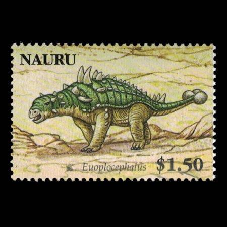 2006 Nauru Stamp #561 - $1.50 Euoplocephalus