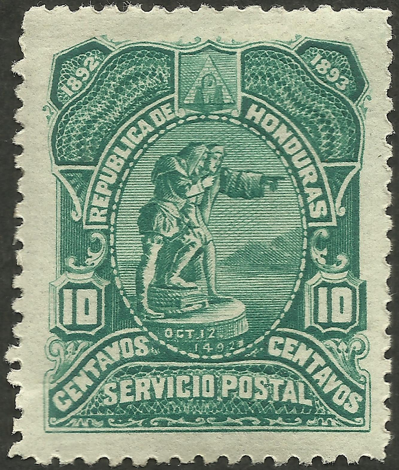 Honduras #68 (1892)