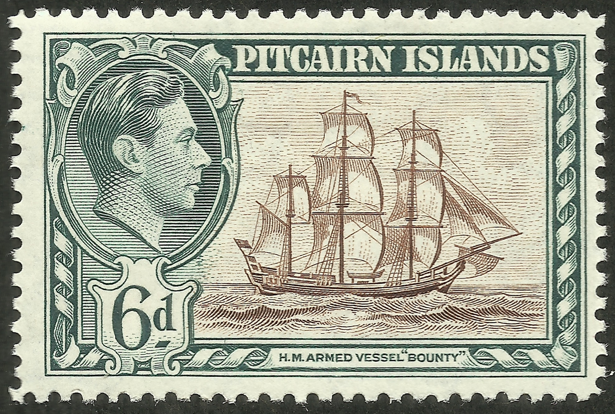 Pitcairn Islands #6 (1940)