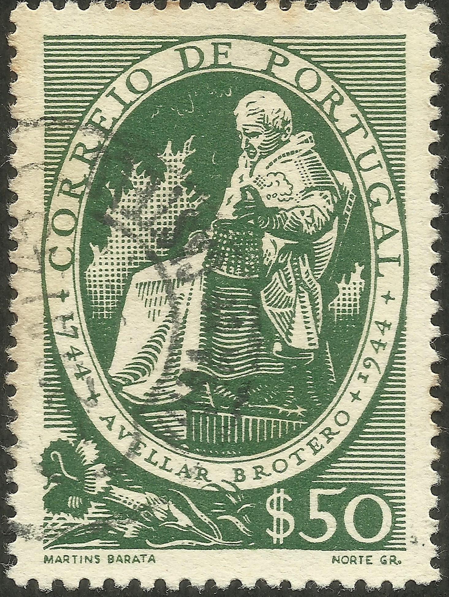 Portugal #639 (1944)