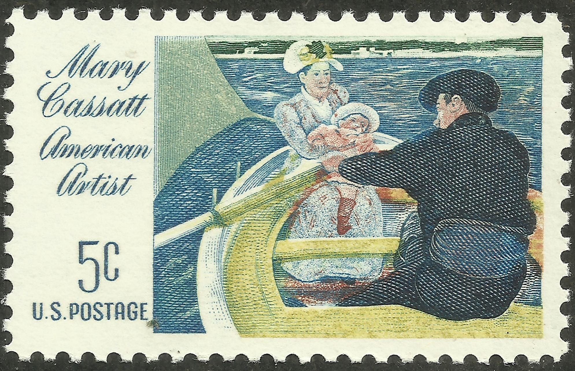 """Mary Cassatt """"The Boating Party"""""""