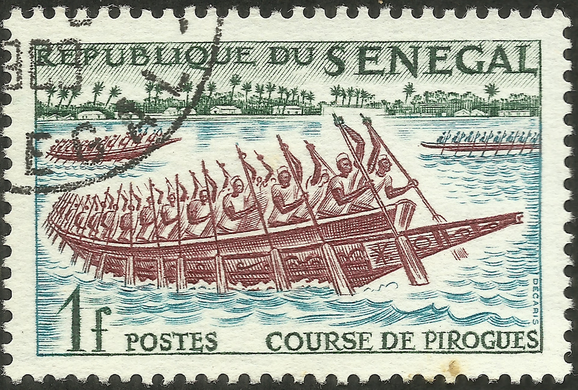 Senegal, Republic of #203 (1961)