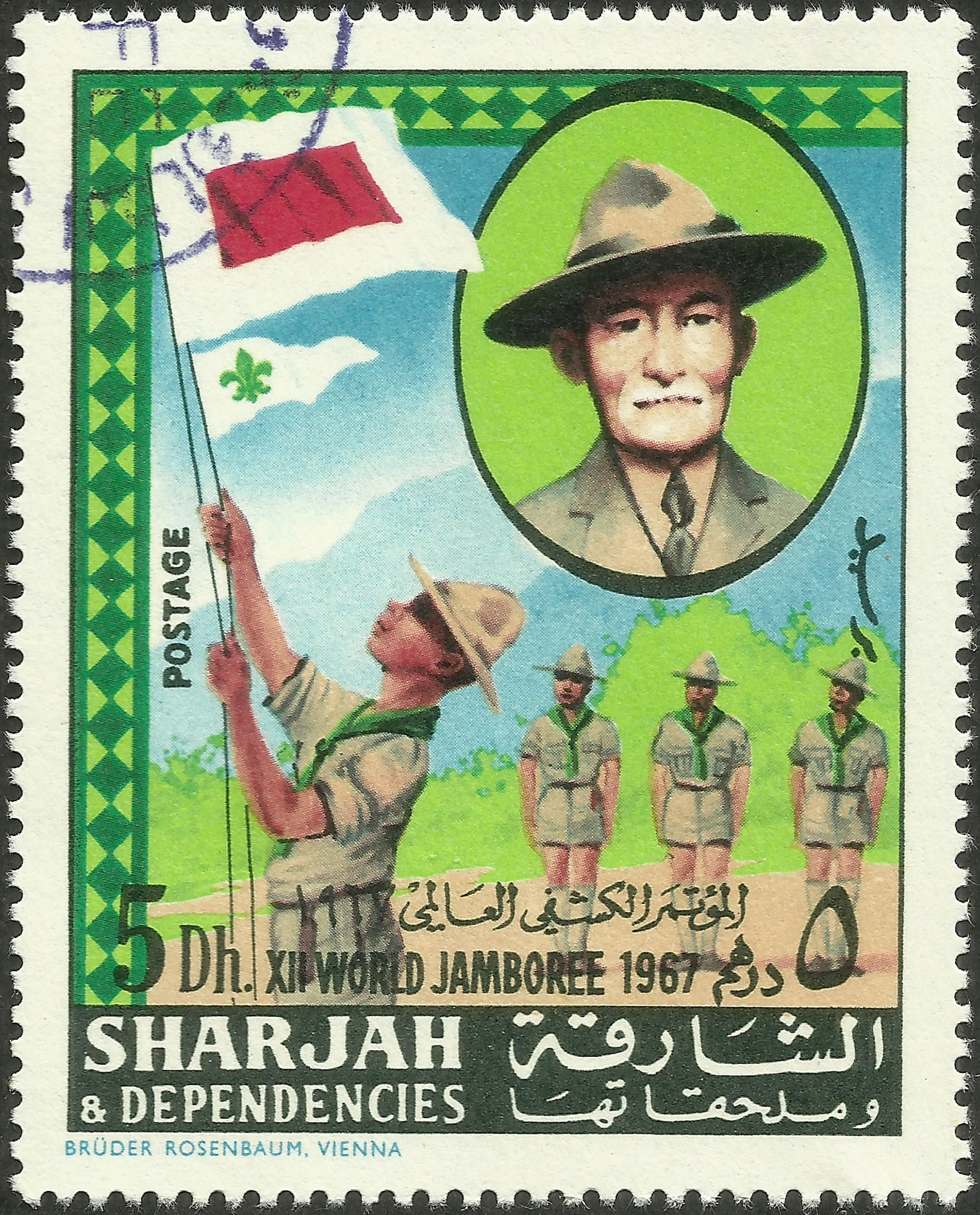 Sharjah & Dependencies – 12th World Scout Jamboree (1968)