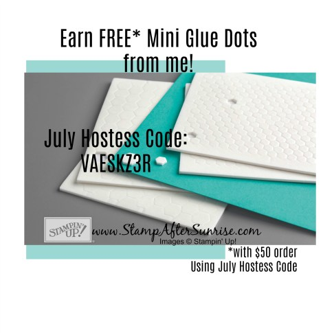 Stampin-Up-July-Hostess-Code-Angela-Waters-#StampAfterSunrise